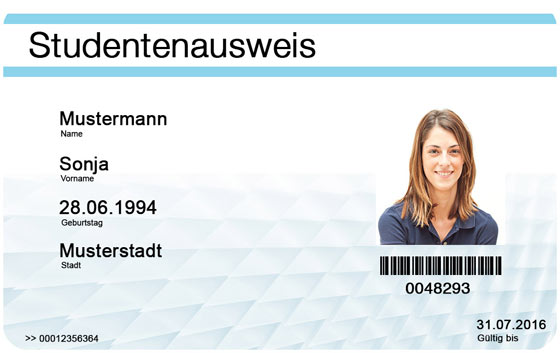 Falscher Studentenausweis bestellen - Fake Student ID Card buy