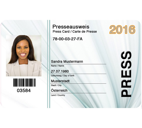 Falscher Presseausweis bestellen - Fake Press ID Card buy